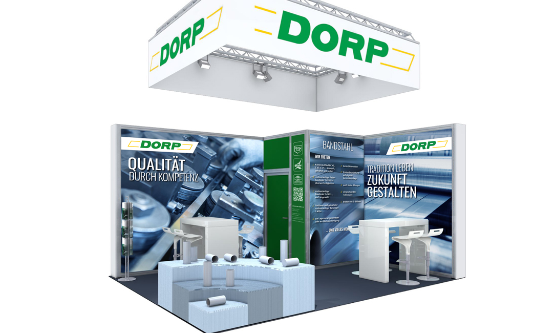 Dorp_Messestand